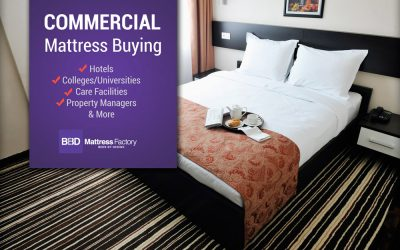 Commercial Mattress orders for Hotels, Universities & More
